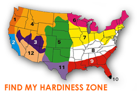 Find my Hardiness Zone
