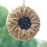 Wild Bird Seed Wreath Sunflower