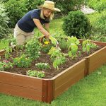 4'x8′ Complete Double Level Raised Bed