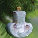 Glass Ornament Mushroom