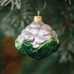 Cauliflower Glass Ornament