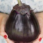 Eggplant Meatball Hybrid