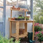 Premium Cedar Potting Table